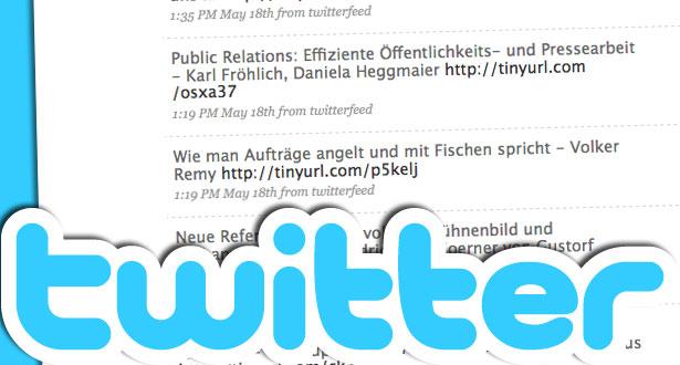 Der Kurznachrichten- bzw. Microblogging-Dienst twitter