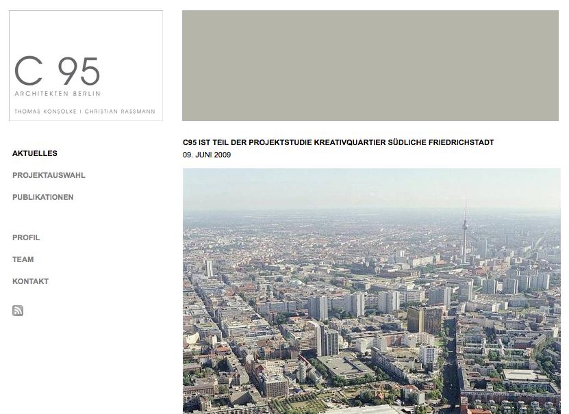 Screenshot von c95-architekten.de