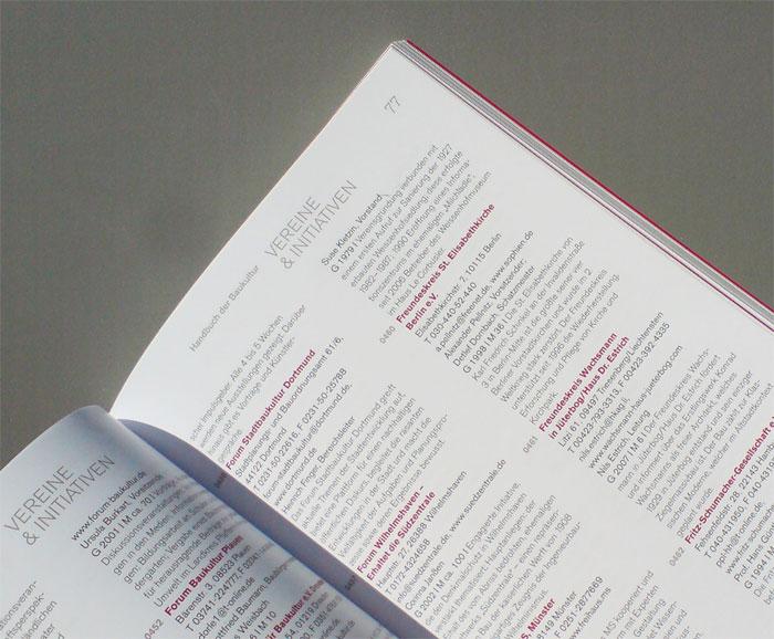 """Das """"Handbuch Baukultur"""" 2010/2011 der Bundesstiftung Baukultur"""