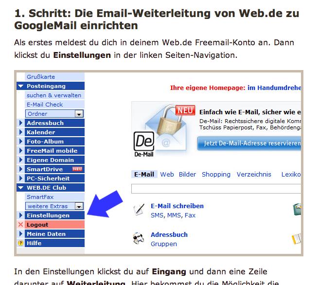 Screenshot: Eine Schritt-für-Schritt-Anleitung auf gertis-pc-tipps.de