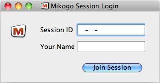 Start einer Mikogo-Online-Sitzung