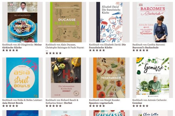 """Die besten Kochbücher – ausgezeichnet vom Kochbuch-Blog """"Valentinas Kochbuch"""""""