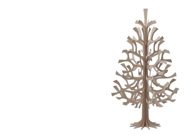 Ein Weihnachtsbaum aus Birkensperrholz von InteriorPark