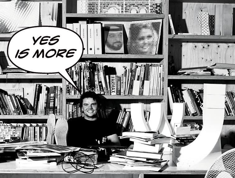 Screenshot von big.dk: Bjarke Ingels im Buch YES IS MORE