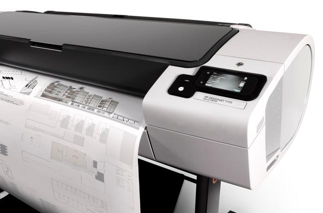 HP Designjet-Technologien bieten Druck direkt über Touchscreen und Web