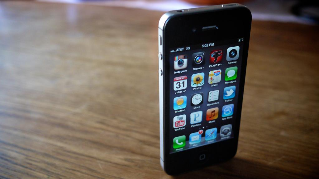 Platz für Apps aller Art: Das iPhone 4 (Foto: Flickr/MattsMacintosh)