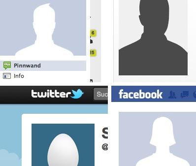 Anonyme Profilbilder auf XING, Twitter, Facebook: Nicht der beste Weg für's Eigen-Marketing