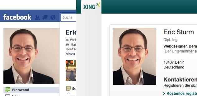 Das Profilfoto von Eric Sturm auf Facebook und XING