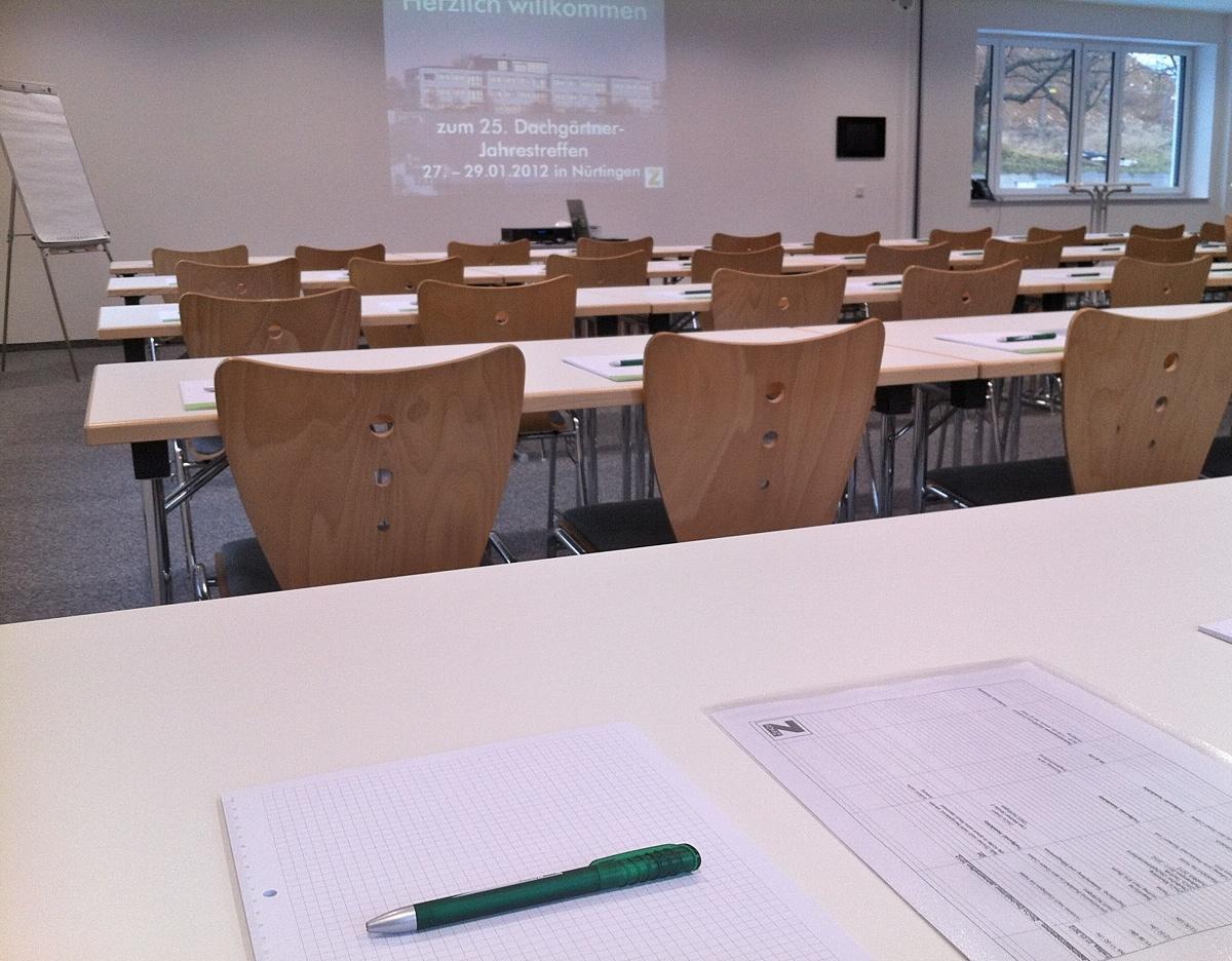 Eric Sturm ist Dozent für individuelle Inhouse-Seminare und Vorträge für Architektur-Büros oder Unternehmen (hier: ZinCo GmbH, Nürtingen)