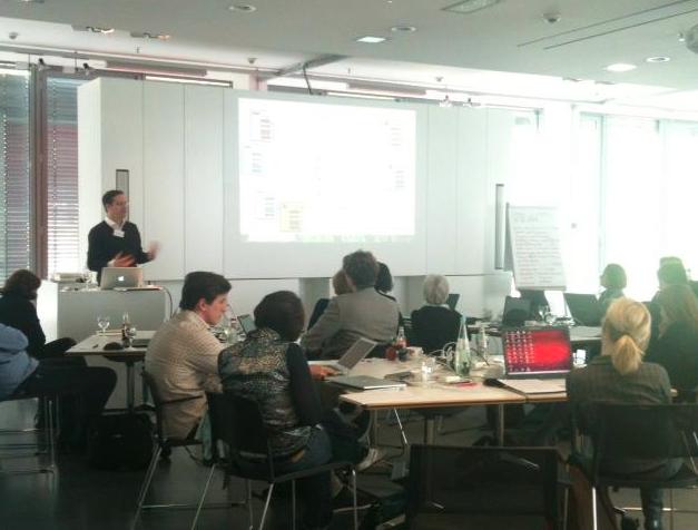 Vortrag von Eric Sturm bei der Zukunftswerkstatt Architektur im April 2012