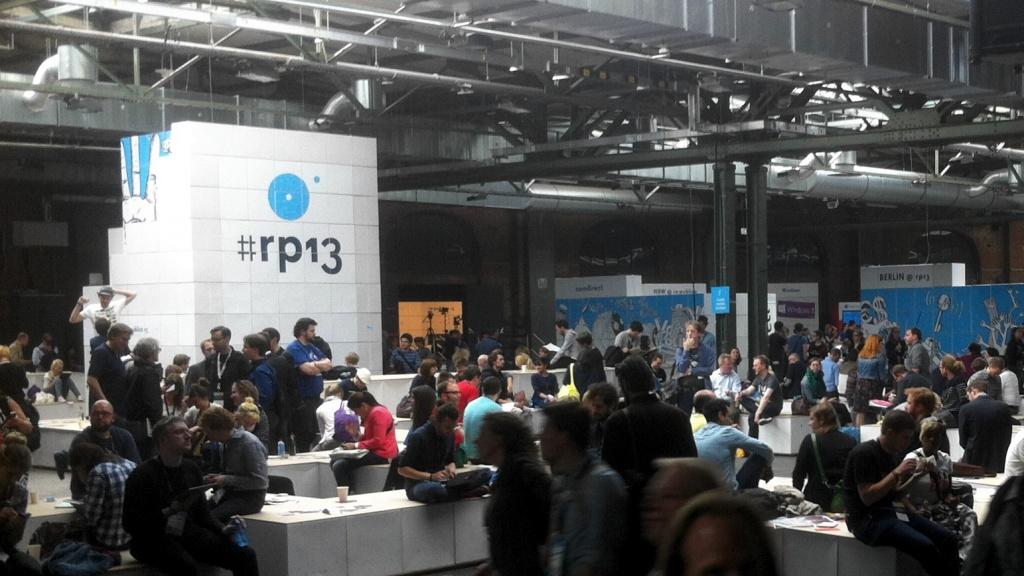Viel Betrieb auf der re:publica 2013