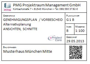 Plancheck Mobil von PMG: Bauplan mit QR-Code