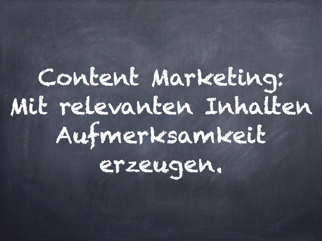 Content Marketing: Auch ist für Architekten und Ingenieure interessant!