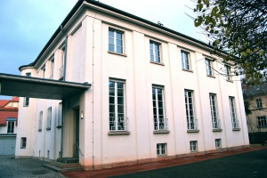 """Veranstaltungsort: Das """"Haus der Architekten"""" in Dresden-Blasewitz"""