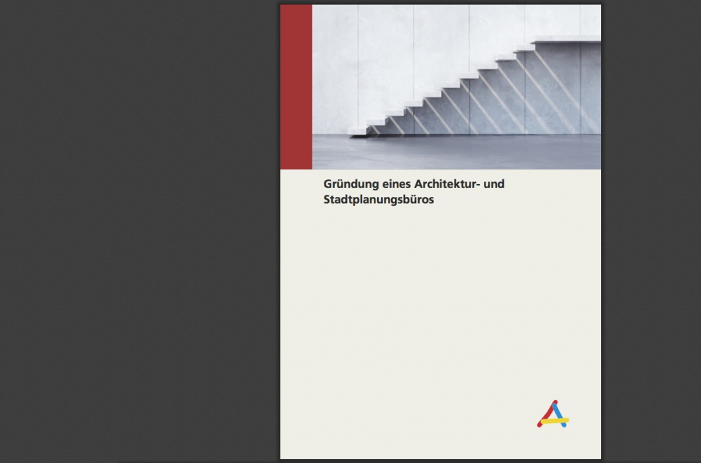 Die neue Broschüre der Architektenkammer Berlin für Büro-Gründer