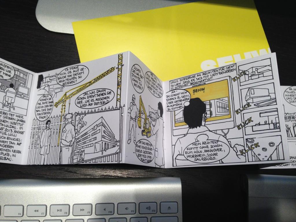 Willi aus Wildau: Architektur-Comic von SEHW Architektur