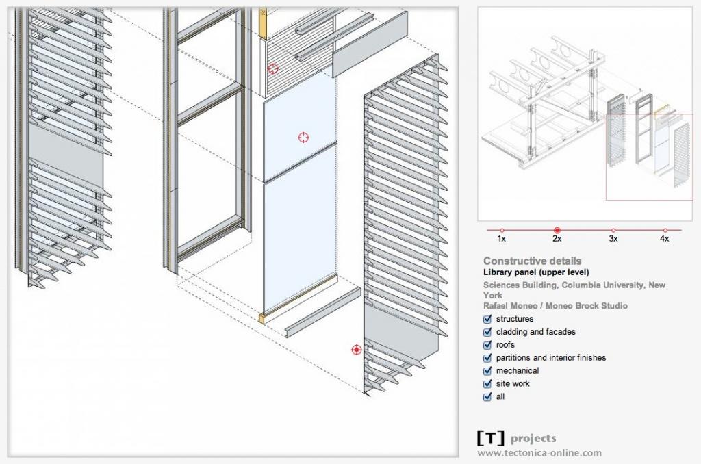 Screenshot: Ein Konstruktionsdetail im Online-Portal der Fachzeitschrift Tectónica