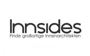 Das Logo des Innenarchitektur-Bewertungsportals Innsides