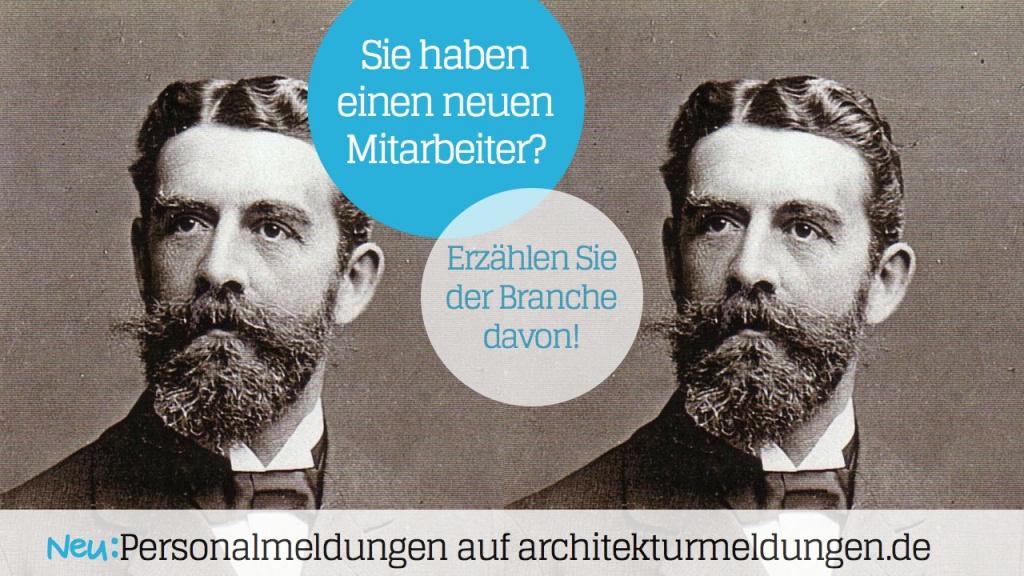 Auf architekturmeldungen.de können Architekten ihre Personalmeldungen kostenlos veröffentlichen