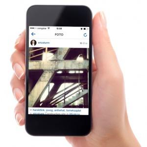 Live von der Baustelle: Ein Instagram-Foto aus Krakau