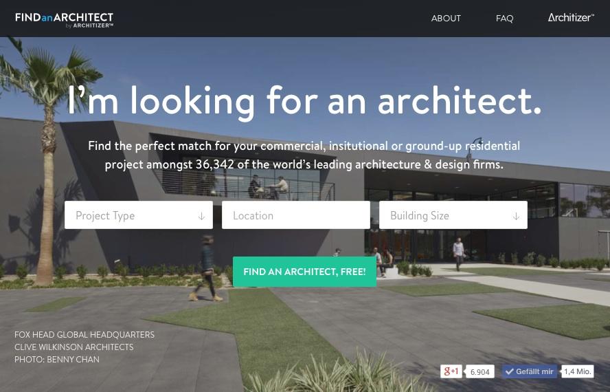 neue bauherren plattform in den usa gestartet architekten. Black Bedroom Furniture Sets. Home Design Ideas