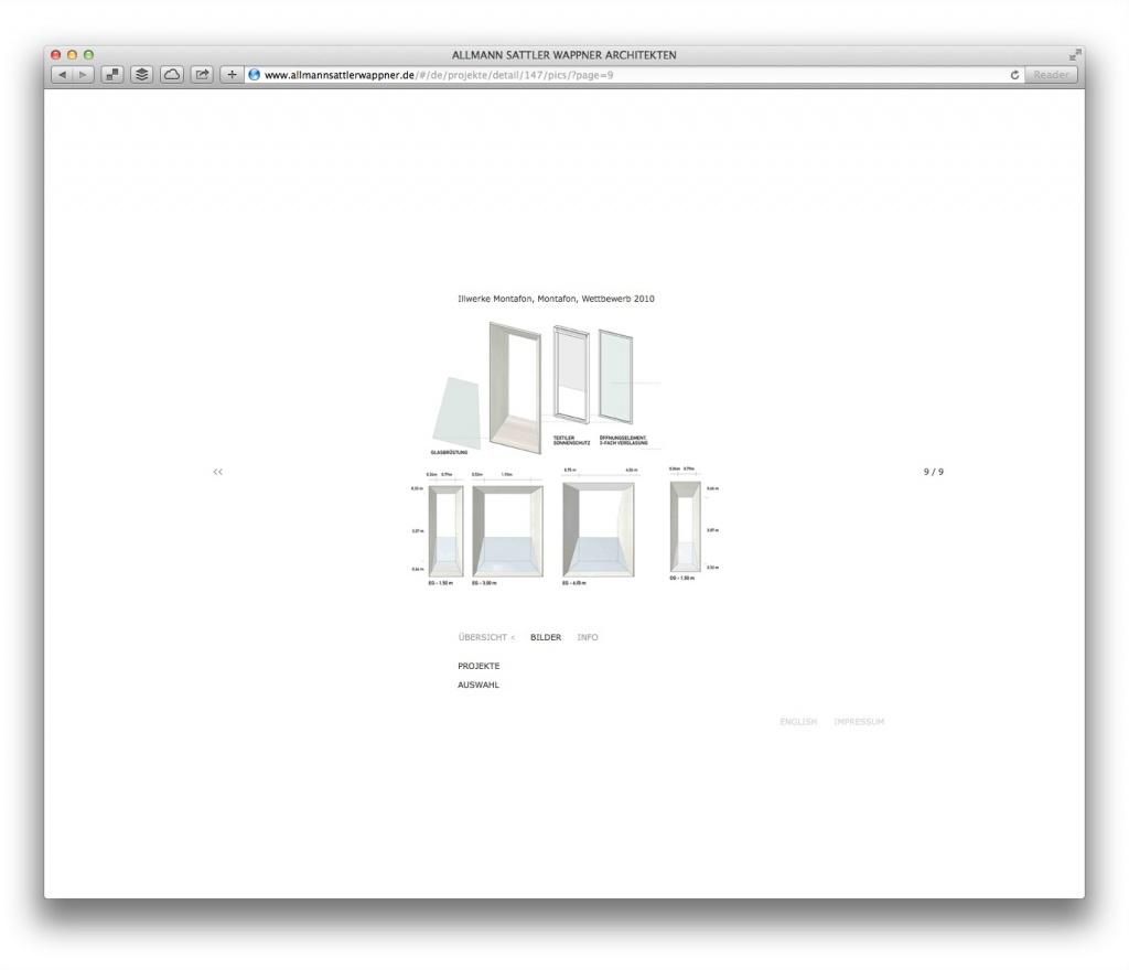 Detailverliebt: Projektdetails fast zum Anfassen (Allmann Sattler Wappner Architekten)