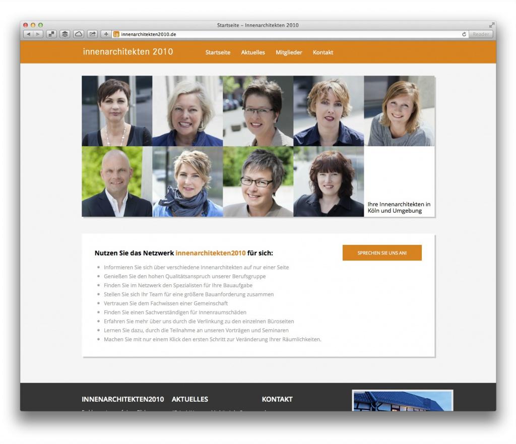 Ein Innenarchitekten-Netzwerk stellt sich vor: innenarchitekten2010.de aus Köln und Umgebung