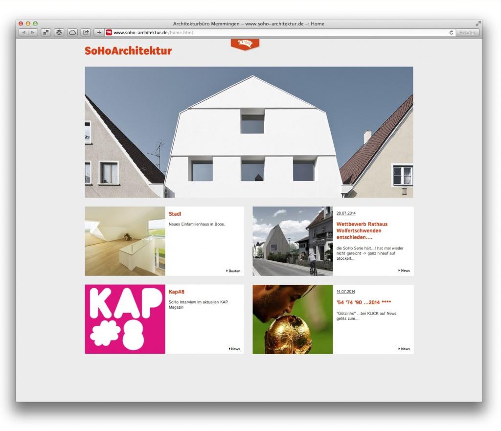 Frische Planungsideen aus Memmingen: SoHoArchitektur