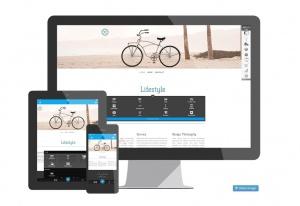 Der Website-Baukasten Jimdo hat ab sofort neue Designs und neue Funktionen (Bild: Ausschnitt von jimdo.com)