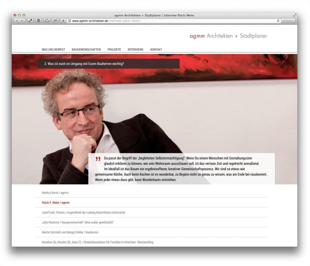 Büro-Vorstellung in Interview-Form: agmm Architekten + Stadtplaner, München