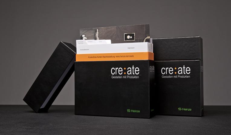 Die komplette Box ist kostenlos unter heinze.de/create zu bestellen