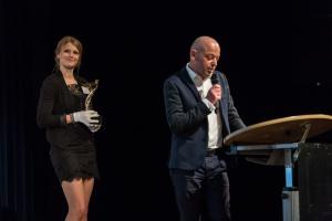 Der Jury-Vorsitzende Armandus Sattler stellt die Preisträger des Architects' Darling® Award 2014 vor.