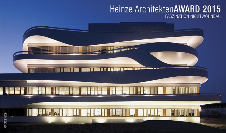 Die Teilnahme am Heinze ArchitektenAWARD ist unter www.heinze.de/award kostenlos möglich.