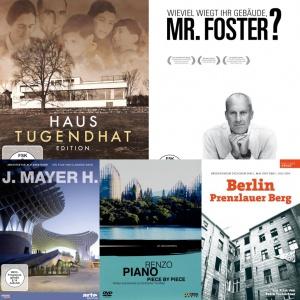 Geschenke für Architekten: Die zehn besten Architektur-DVDs