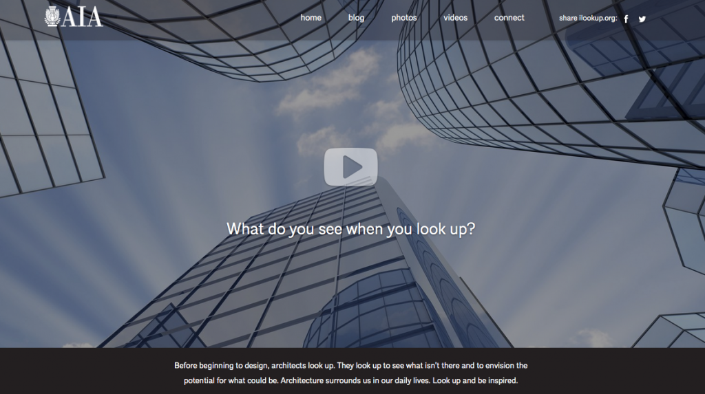 Screenshot der Website ilookup.org (American Institute of Architects)