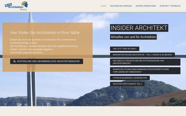 Thema Architekten-Verzeichnisse - Internet für Architekten