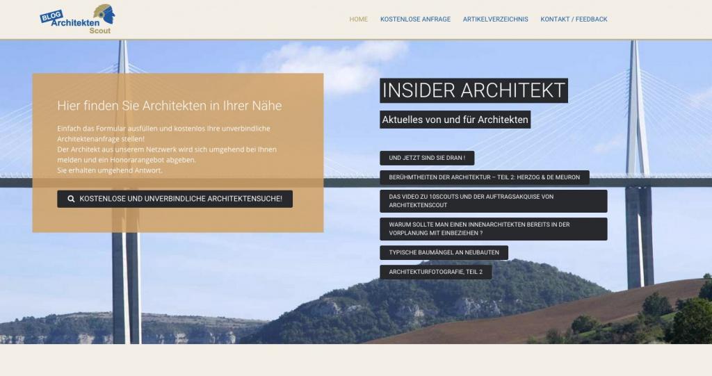Architekten-Scout.com (Screenshot)
