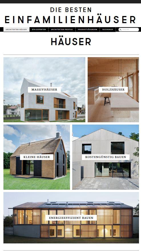 Häuser-Kategorien