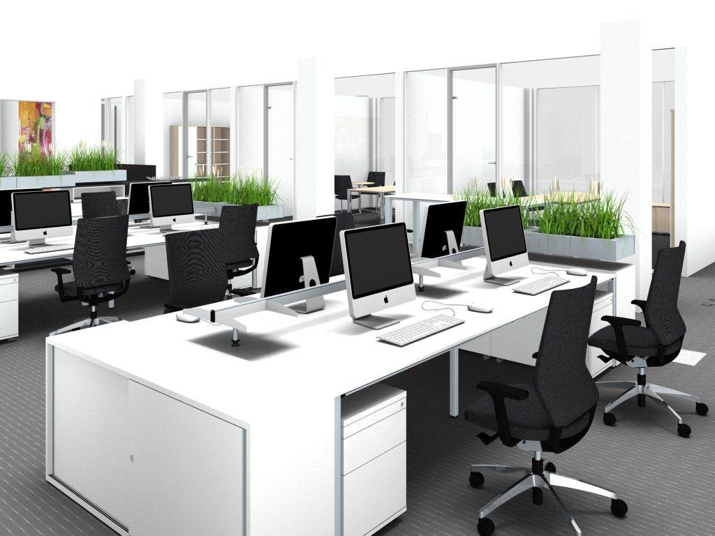 Moderne büroeinrichtung  Büroeinrichtung: Planung für mehr Ergonomie am Arbeitsplatz ...
