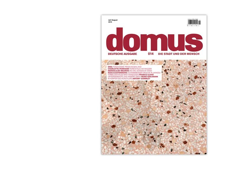 domus (Cover, Website-Screenshot Juli 2015)