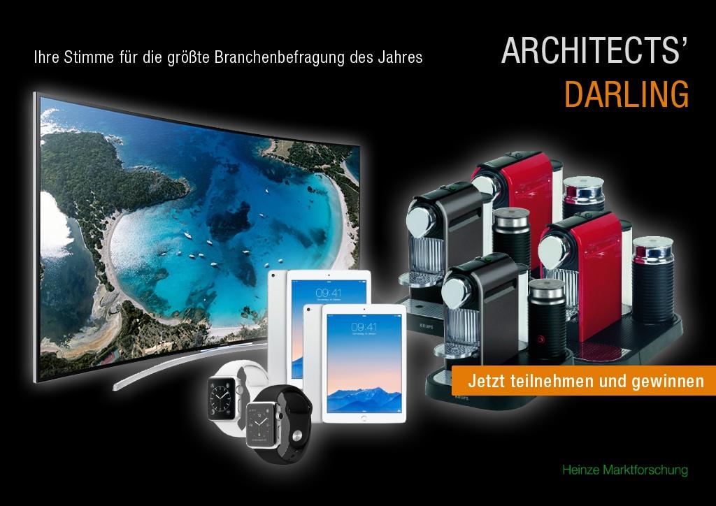 Architects' Darling: Wer sind die Lieblinge deutscher Architekten?