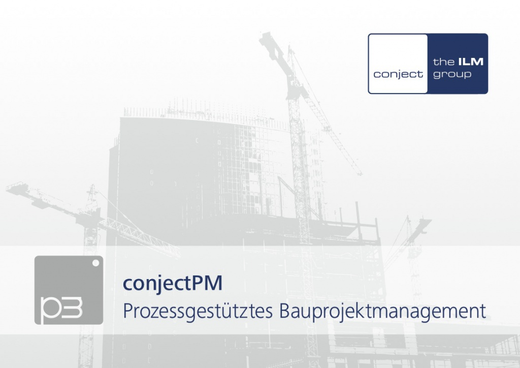 conjectPM (Screenshot Broschüre Bauprojektmanagement)