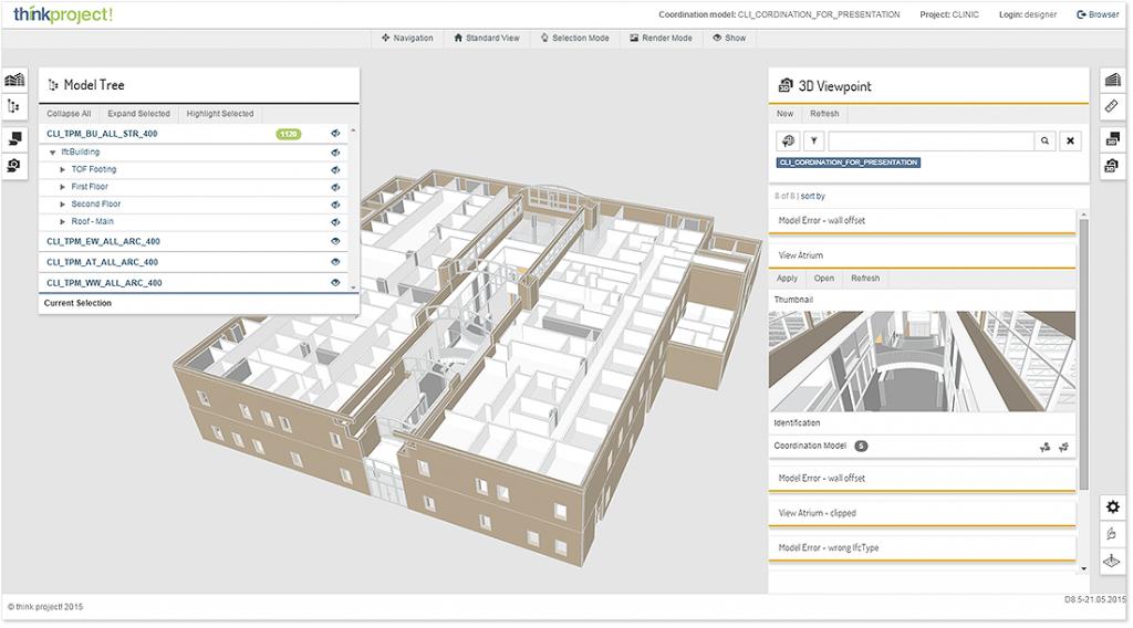 Modul BIM Review: digitale Bauwerksmodelle im Browser visualisieren, prüfen und kommentieren