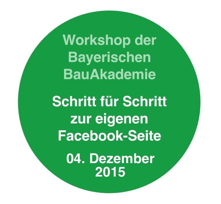 Facebook-Workshop für Bauunternehmen