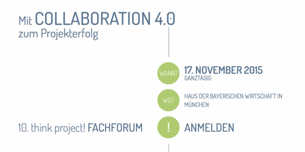 10. think project! Fachforum in München