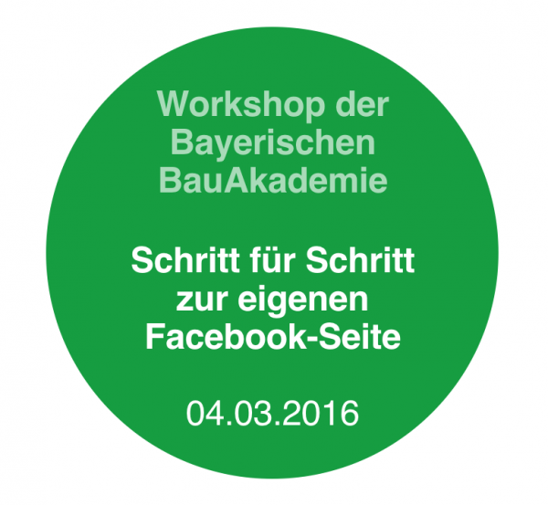 Facebook-Workshop Feuchtwangen (Bayern)