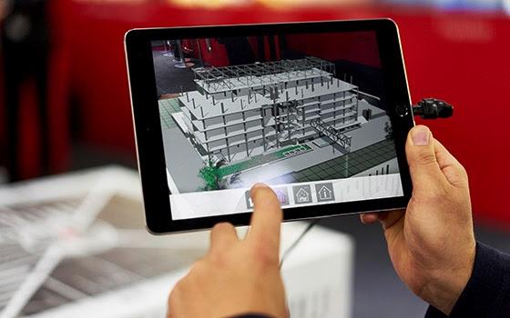 Die BIM-App von ATP auf dem iPad