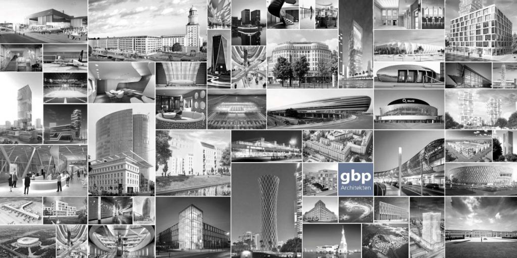 Projekte von gbp Architekten, Berlin
