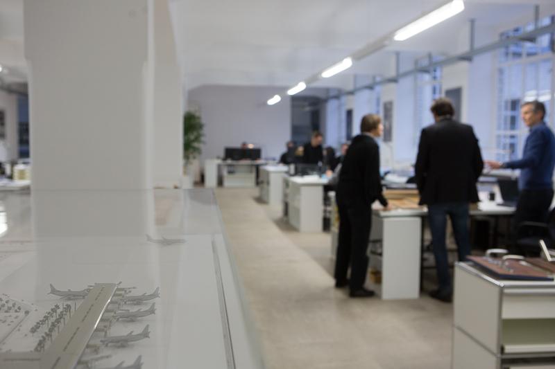 gbp Architekten, Berlin: Blick ins Büro