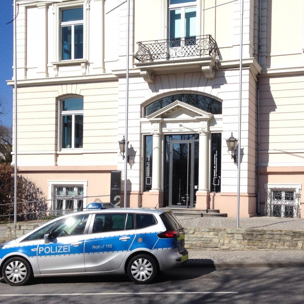 Das Gebäude der Architektenkammer Hessen in Wiesbaden (Foto: Eric Sturm)